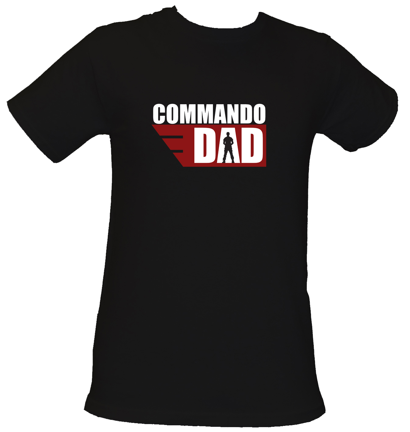 Commando Dad T Shirt